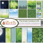 Paper Kit 12x12 - Ella & Viv - The Great Outdoors