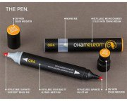 Chameleon Pen - Black Detail Marker