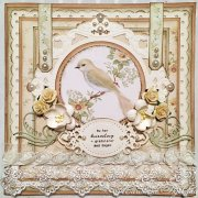 The Songbirds Secret Pion Design Scrapbooking Papper