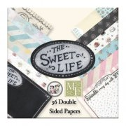 "Paper Pad 6""x6"" Melissa Frances - The Sweet Life 36 ark"