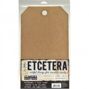 "Tim Holtz Etcetera Large Tag 8.25""X14.25"" - 1 st"