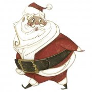 Tim Holtz Sizzix Thinlits Dies - Jolly St. Nick