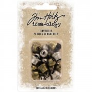 Tim Holtz Charms - Tiny Bells - 30 st