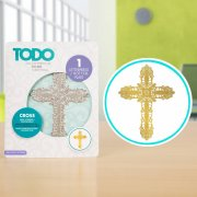 TODO - Hot Foil Press - Cross