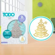 TODO - Hot Foil Press - Decorative Christmas Tree