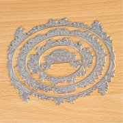 TODO - Hot Foil Press - Oval Nest Butterfly Garden