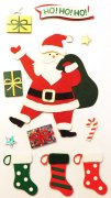 3D Stickers Mix - Santa - Heyda