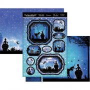 Topper Set A4 Hunkydory - Once Upon A Twilight - You Shall Go To The Ball