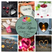 Toppers Dixi Crafts Hearts