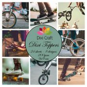 Toppers Dixi Crafts Skater