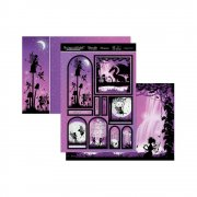 Topper Set A4 Hunkydory - Once Upon A Twilight - A Magical World