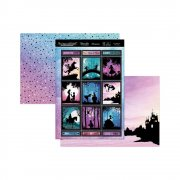 Topper Set A4 Hunkydory - Once Upon A Twilight - In A Land Far, Far Away