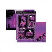Topper Set A4 Hunkydory - Once Upon A Twilight - Twilight Wonderland