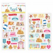Glitter Stickers - Dovecraft - Beach Life