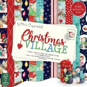 "Paper Pad 6""x6"" - Christmas Village - Dovecraft - 48 ark"