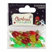 Charms - Lightbulb - Christmas Village