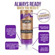 Aleene's Always Ready Turbo Tacky Glue - Ny smart förpackning!