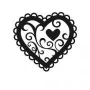 Embossing Folder - Valentine Hearts
