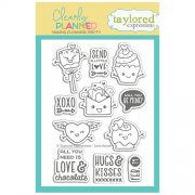 Clearstamps Taylored Expressions - Clearly Planned - Lovestruck
