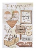 3D Stickers - Vintage Wedding