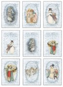 Vintage Foton A4 Reprint - Christmas Frosty