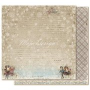 Papper Maja Design - Vintage Frost Basics - 1 December