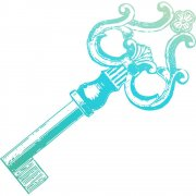 Clear stamp Couture Creations - Vintage Key