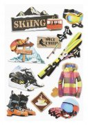 3D Stickers - Wintersport