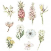Washi stickers - Blommor - 30 st
