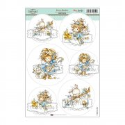 Wee Stamps Topper Sheet A4 - Sweet Meadow