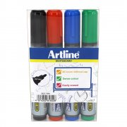 Whiteboard Pennor 4 st - 2 mm - Artline 517