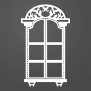 Dies Ultimate Crafts - Ornate Window Frame