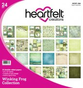 Paper Pad 12x12 - Heartfelt Creations - Winking Frog