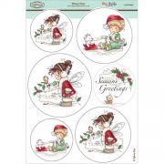 Wee Stamps Topper Sheet A4 - Winter Fairy