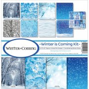 Paper Kit 12x12 - Reminisce - Winter Is Coming