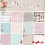Paper Pad 12x12 - ScrapBerrys - Winter Joy