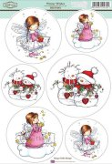 Sugar Nellie Stamps Topper Sheet A4 - Winter Wishes