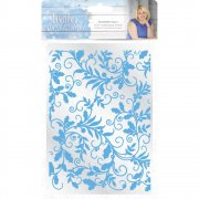 Winter Wonderland Embossing Folder - Entwined Holly