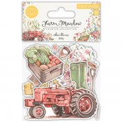 Wood Shapes Craft Consortium - Farm Meadow - 10 st