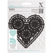 Dies X-Cut - Vintage Filigree Heart