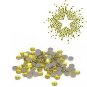 Silhouette Iron-On Crystals Citrine Yellow 3mm - Ca 720 st