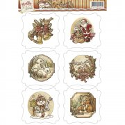 Yvonne Creations Topper Sheet A4 - Holly Jolly