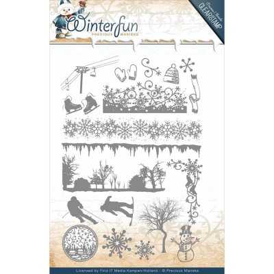 Clearstamps Stämpel Set - Winterfun - Find It Trading