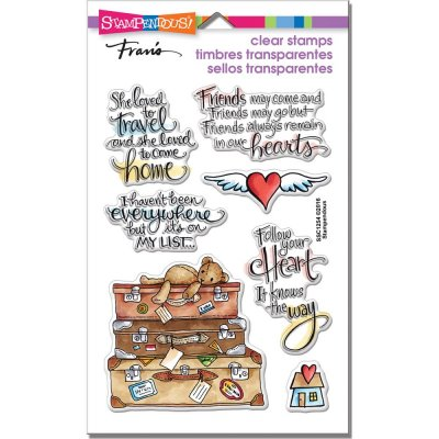 Clearstamps Set - Stampendous - Travel Home