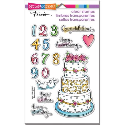 Clearstamps Set - Stampendous - Birthday