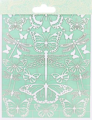 First Edition Paper Cuts - Butterflies - Pappersfigurer