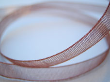 Band Organza 7mm - Sienna
