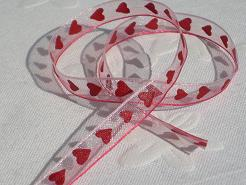 Band - Lovely Hearts Pink 7mm