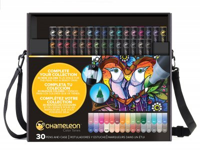 Chameleon Pen 30-pack Kit With Case