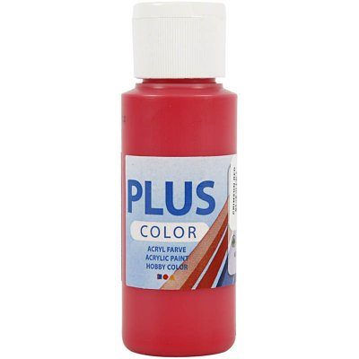 Akrylfärg PLUS Color 60 ml - Crimson Red
